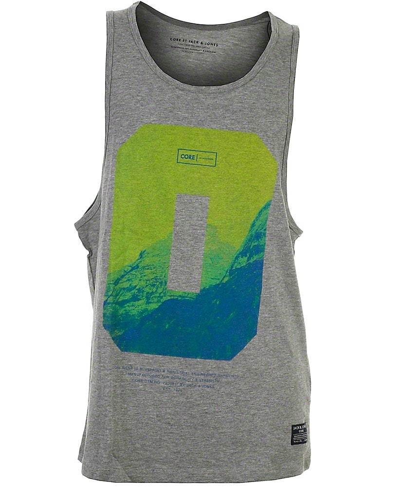 Image of Jack & Jones Core tank top, grå, Alley
