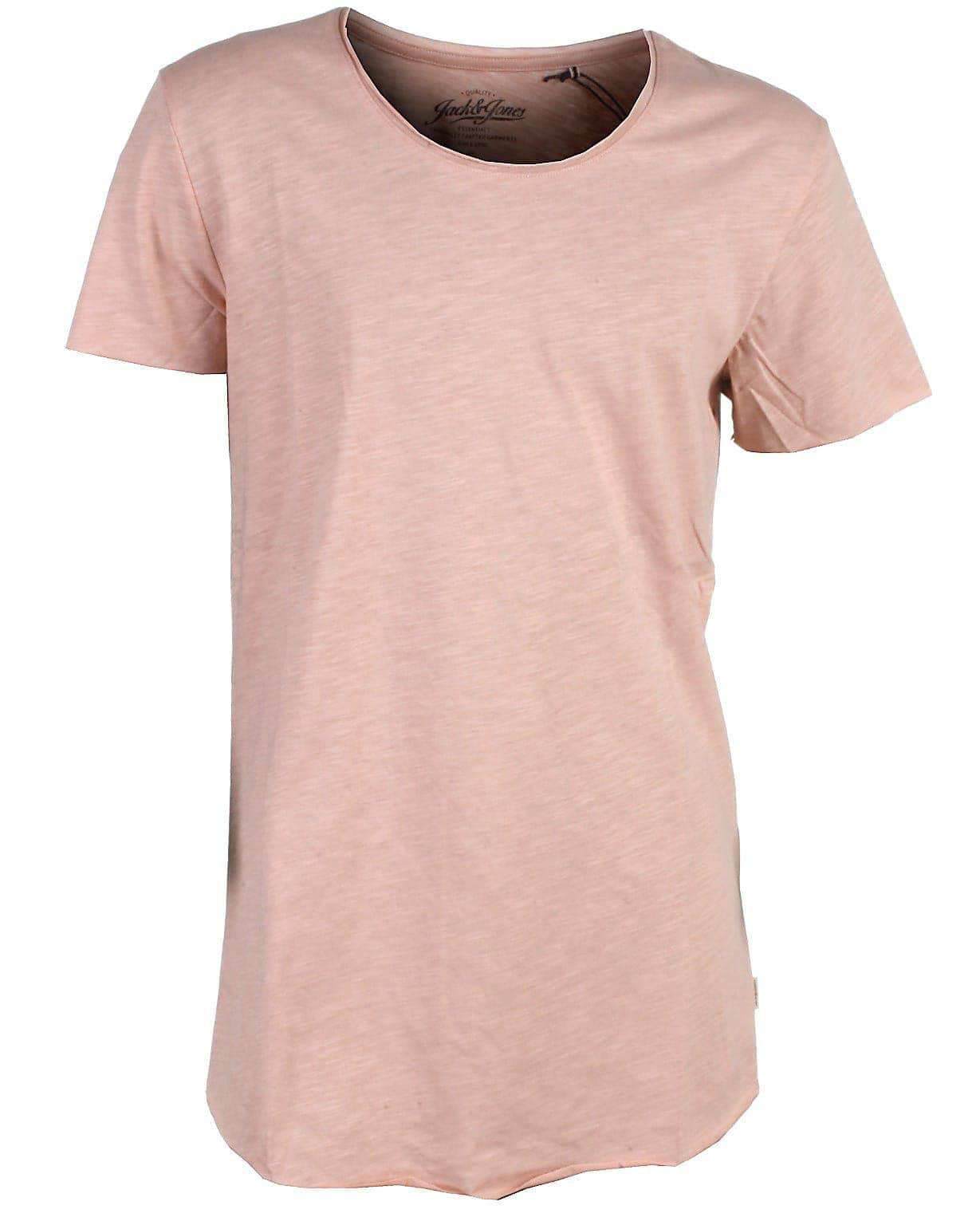 Image of Jack & Jones t-shirt s/s, rosa, Bas