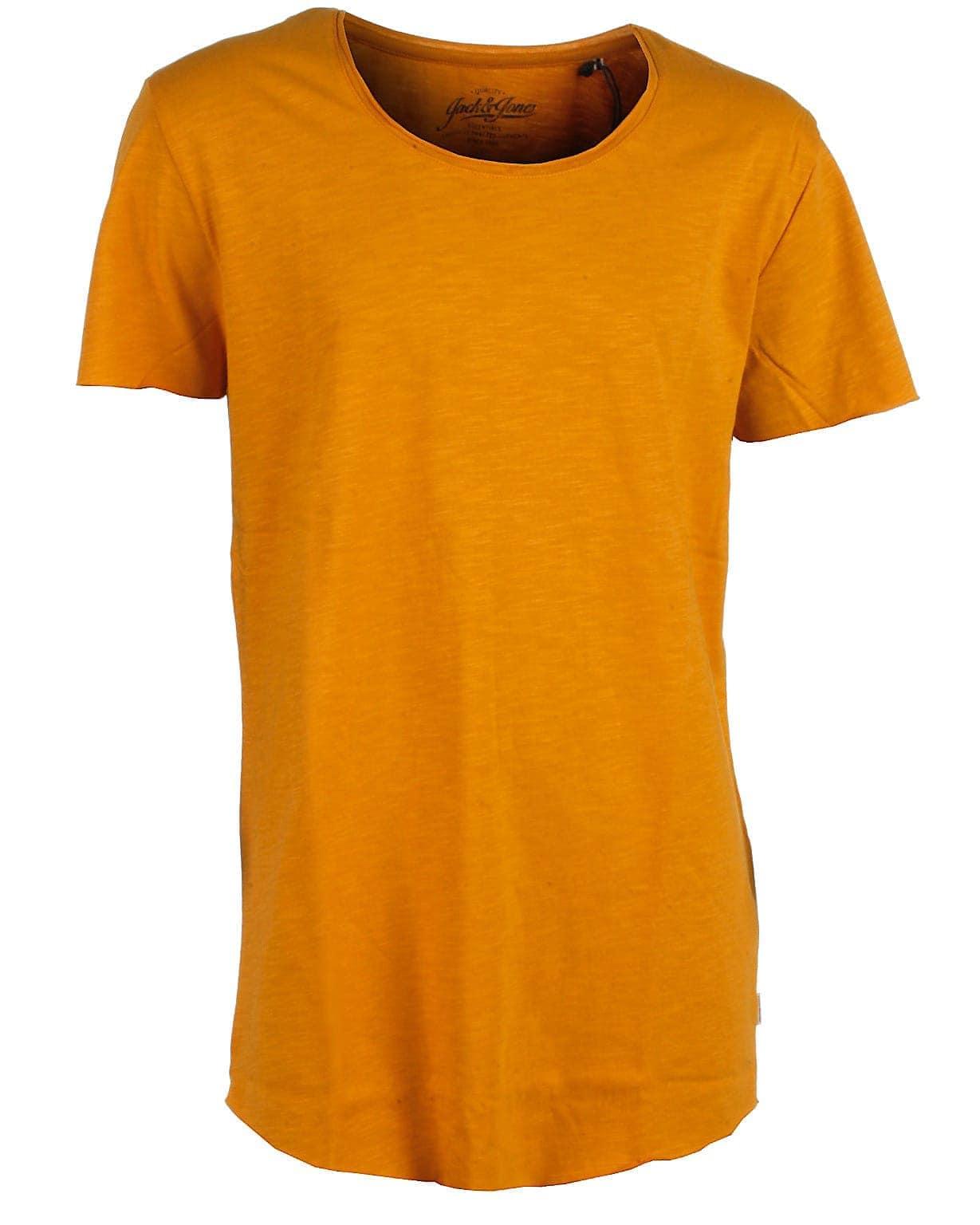 Image of Jack & Jones t-shirt s/s, gul, Bas