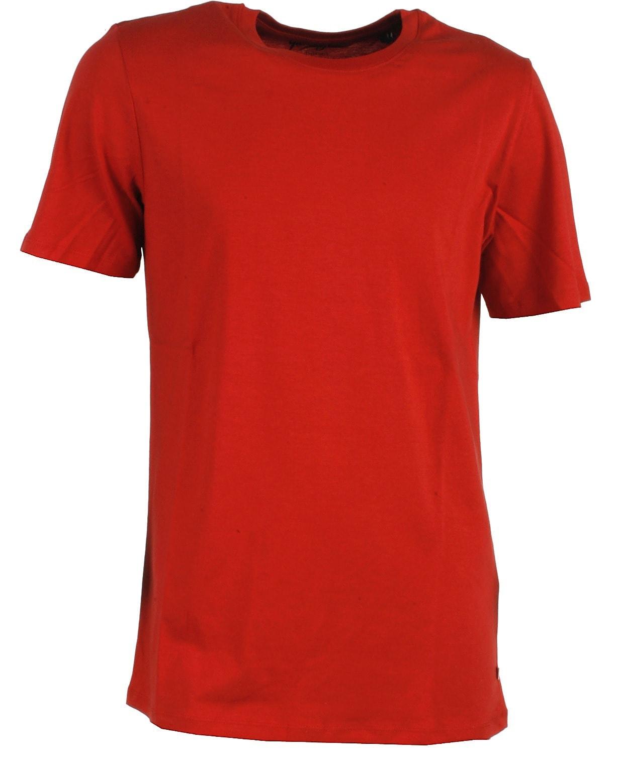 Image of Jack & Jones t-shirt s/s, rød, Plain