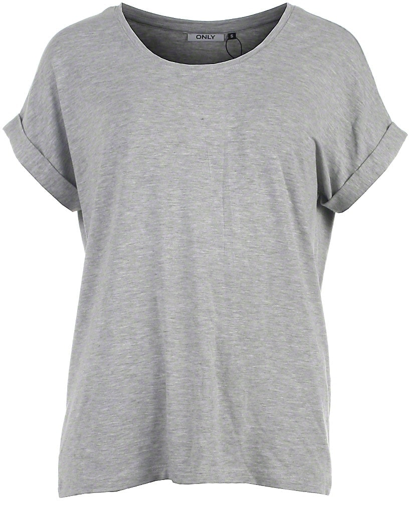 Image of Only t-shirt s/s, grå, Moster