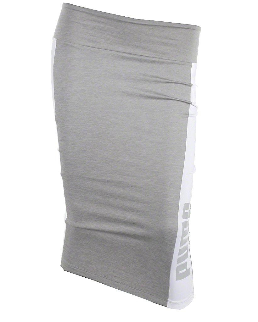 Puma pencil skirt, grå, Archive logo