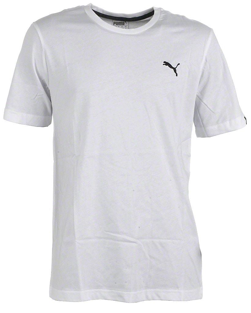 Puma t-shirt s/s, hvid, Ess no. 1