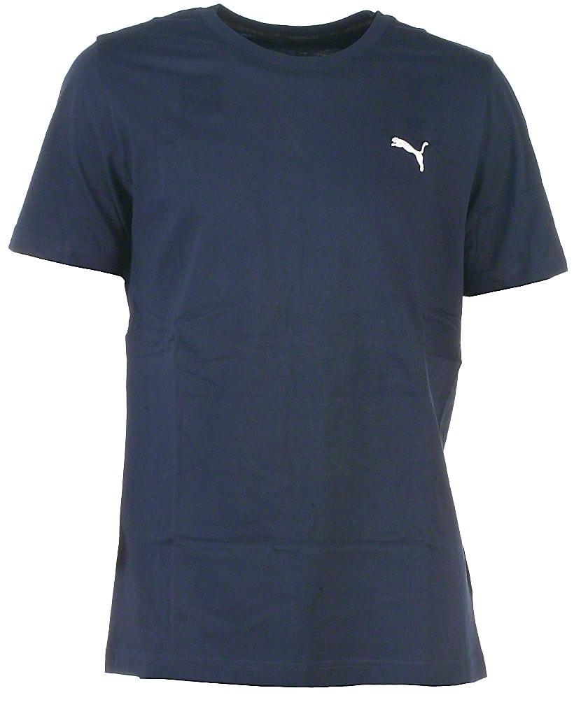 Puma t-shirt s/s, navy, Ess