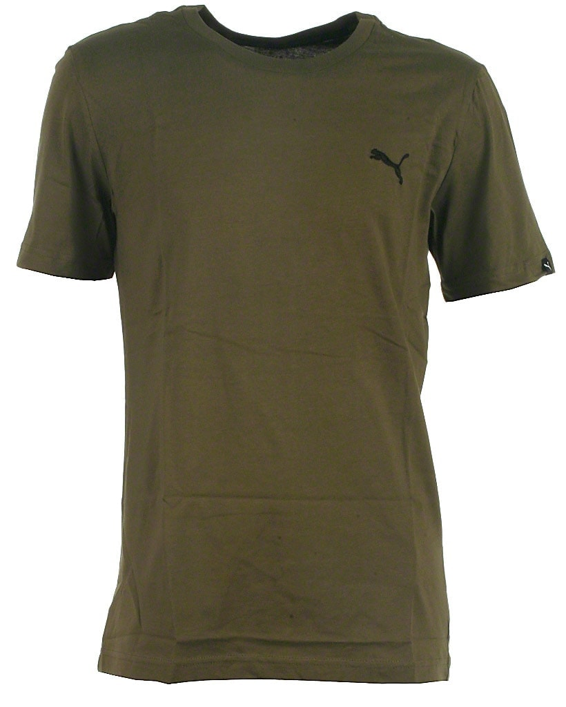 Puma t-shirt, army, Ess no. 1