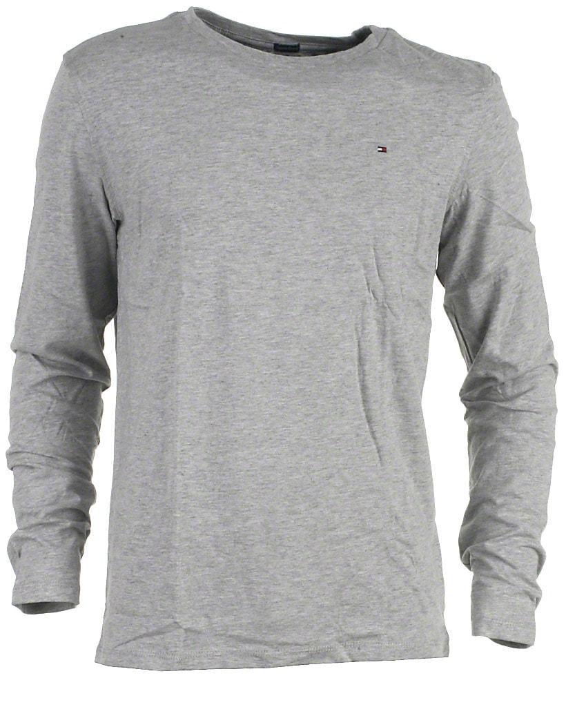 Tommy Hilfiger t-shirt l/s, grå, Original