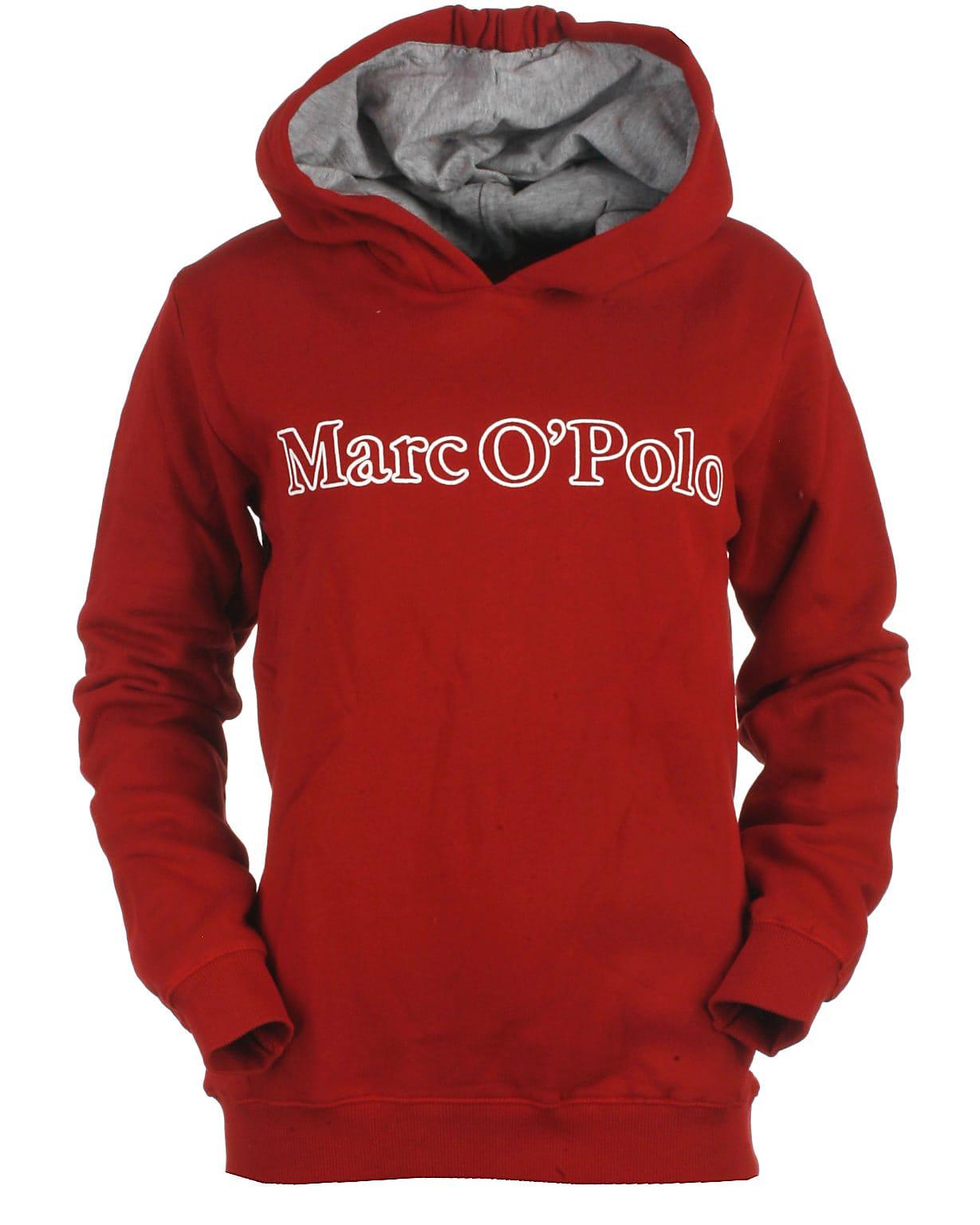 Image of Marc O'Polo hood sweat, rød
