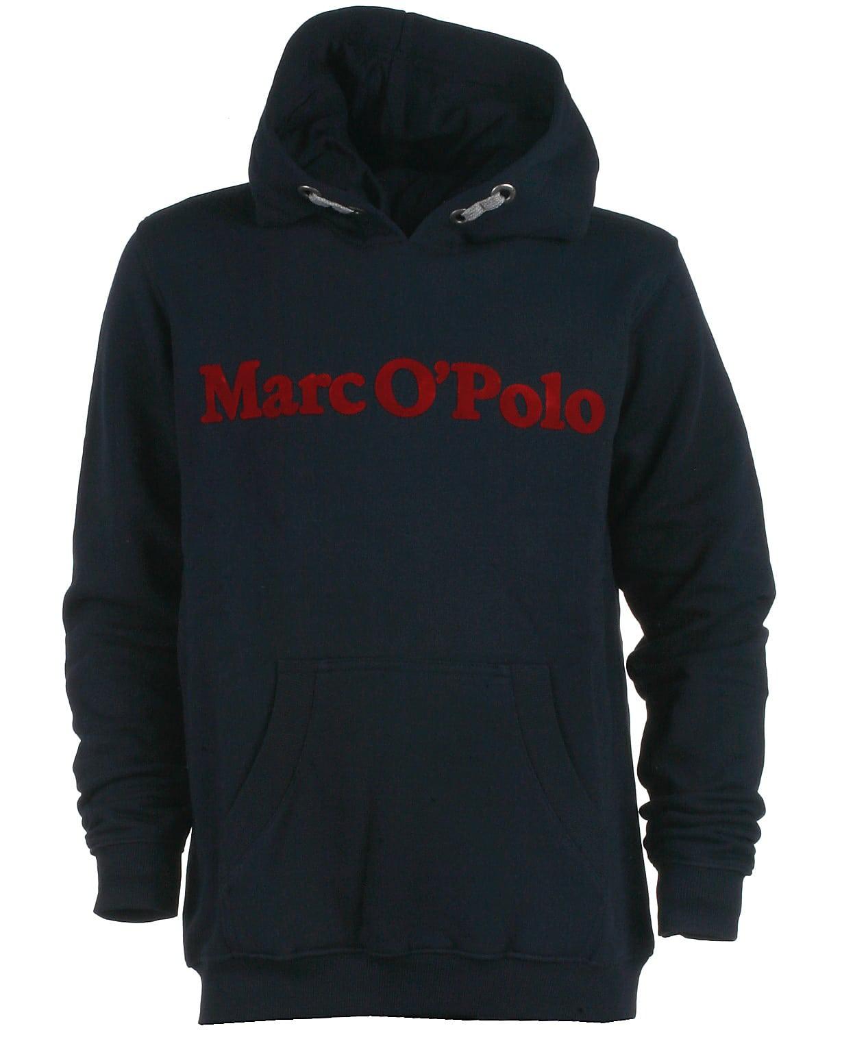 Image of Marc O'Polo hood sweat, navy