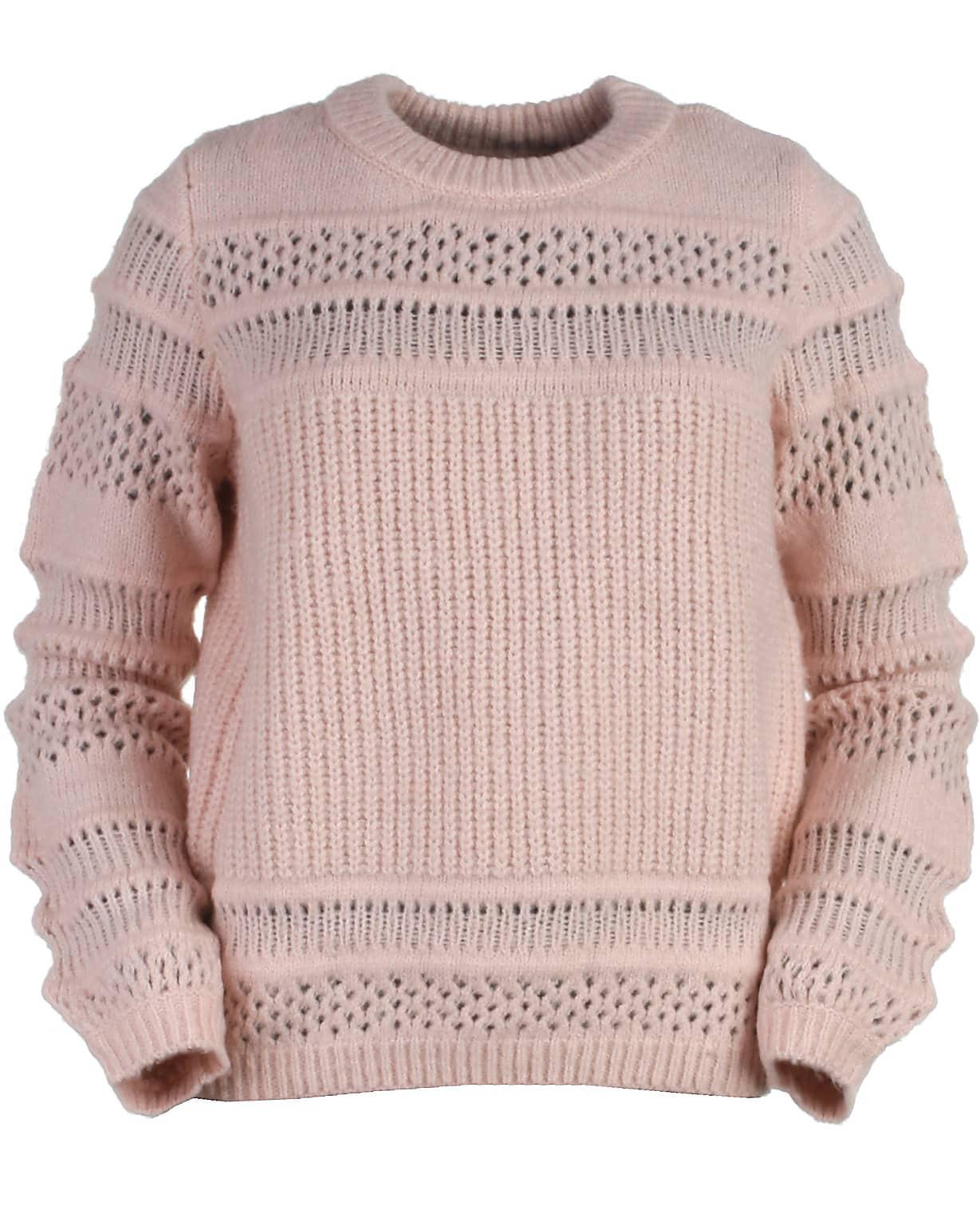 b318dc1dacf Only strik, rosa, Sammi - Lækker striktrøje i en super lækker farve