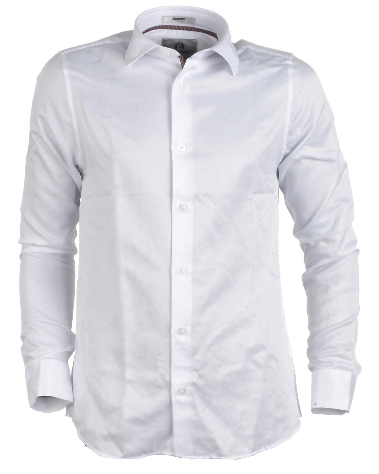 9260ea17430 Cost:bart skjorte l/s, hvid, Kristoffer - Mode online til de unge!