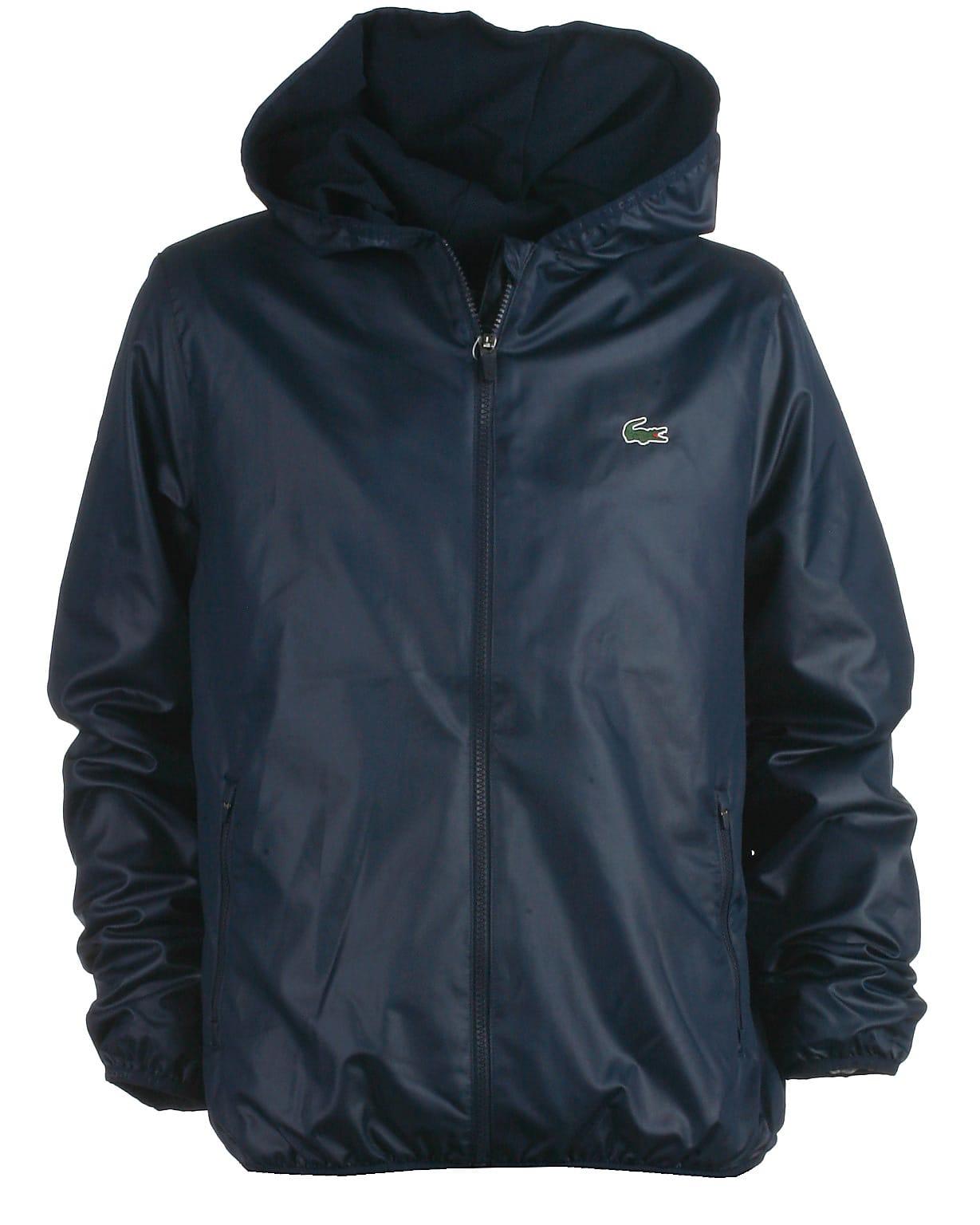 b4a37731c3a Lacoste jakke, navy. Stort udvalg af jakker til teens og tweens.