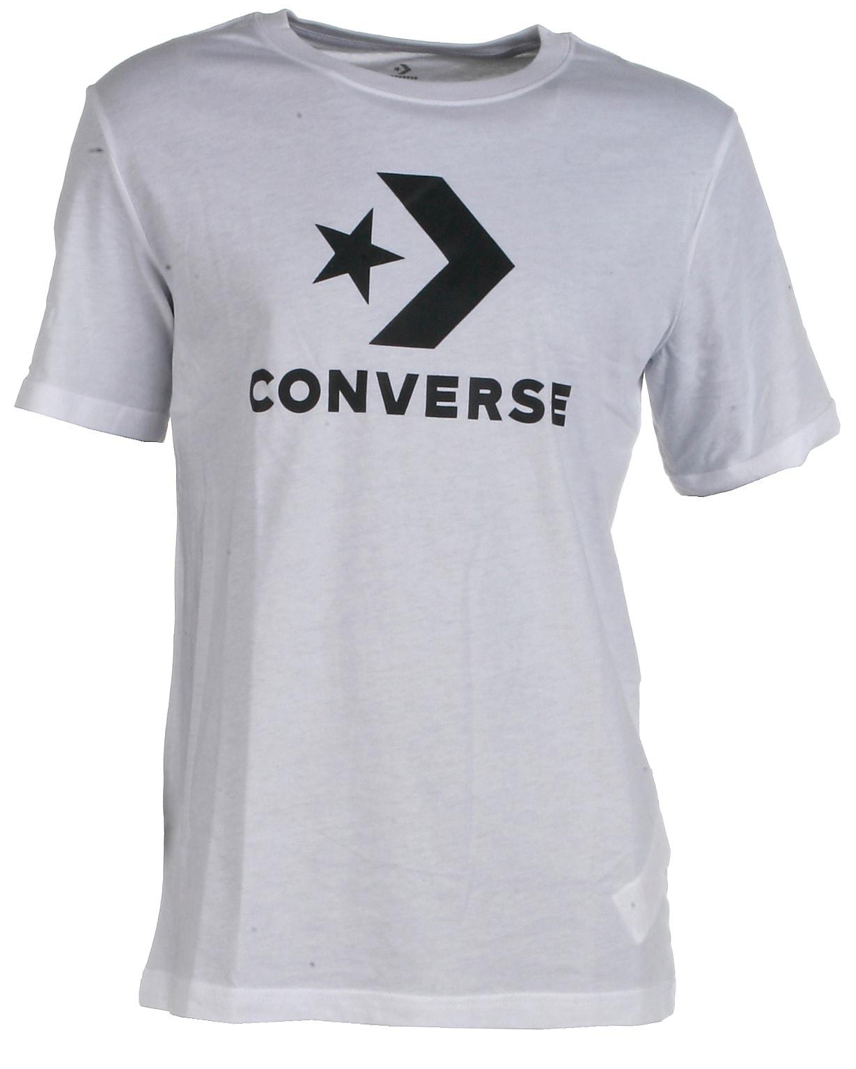 Converse t-shirt s/s, Wordmark, hvid