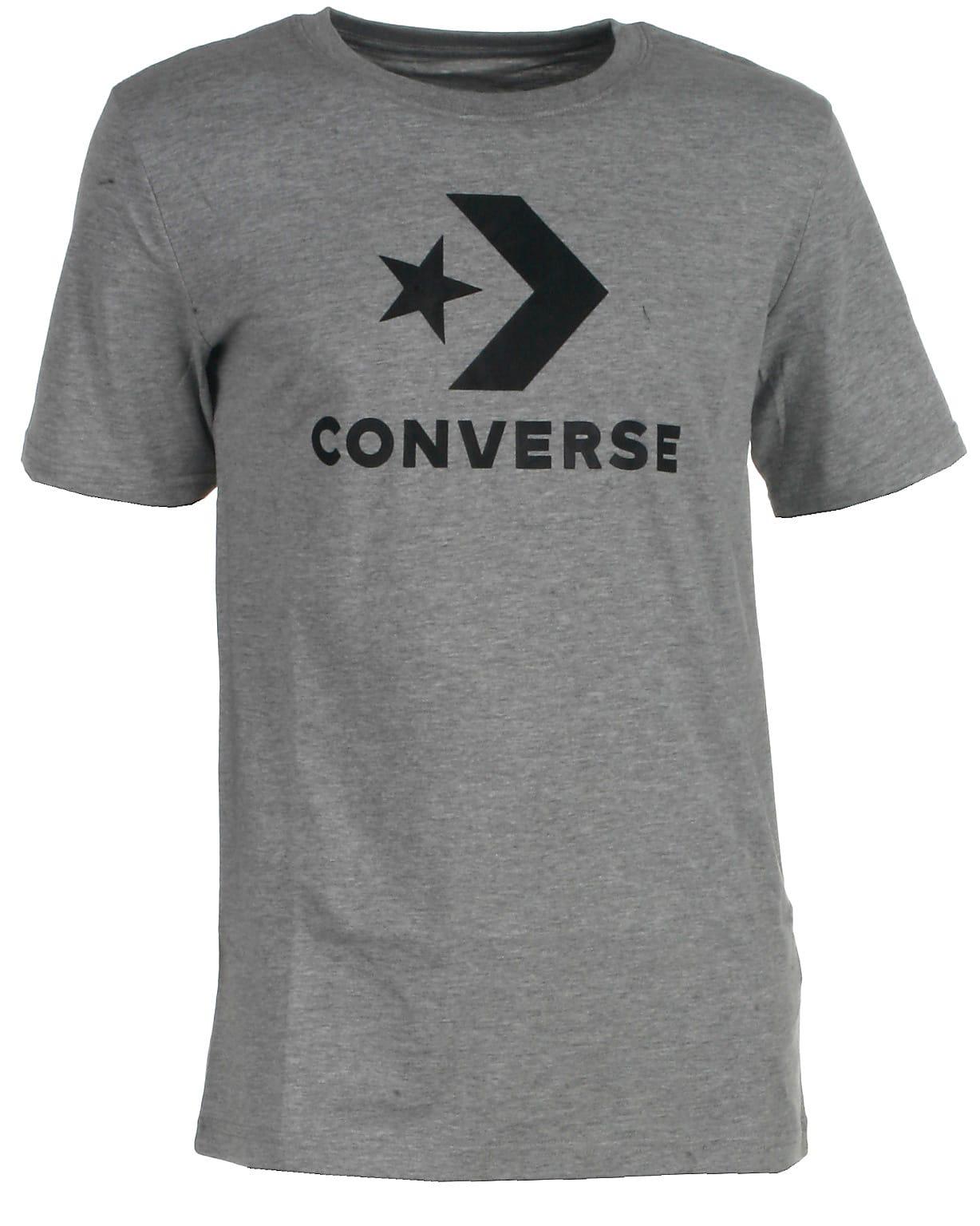 Converse t-shirt s/s, Wordmark, grå