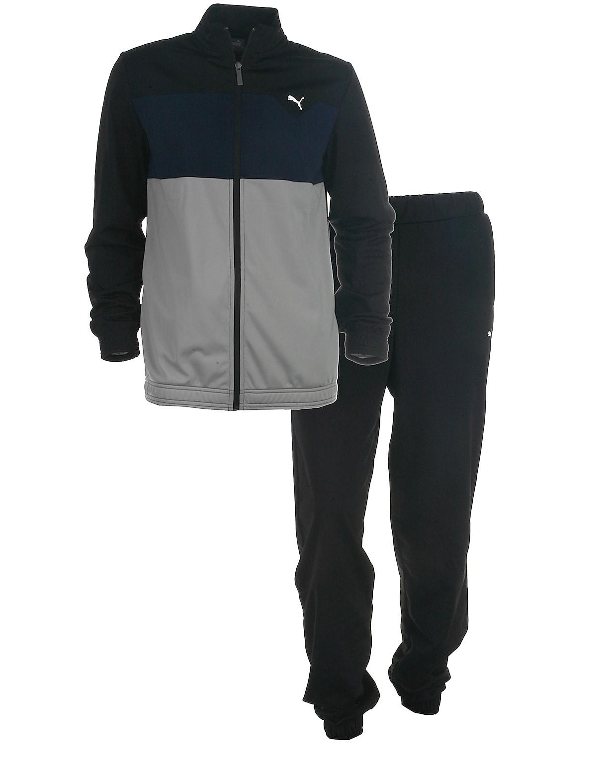 eedfdcb3971 Puma træningssæt l/s, Tricotsuit, sort. Sportstøj fra ...
