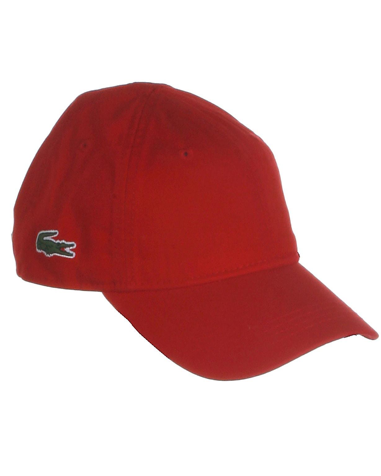 Lacoste cap, rød