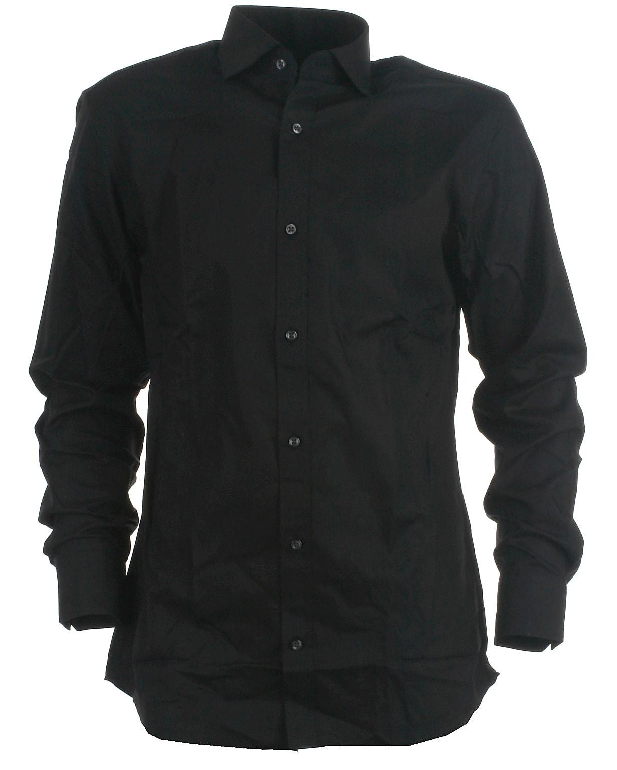 Image of Jack & Jones slim skjorte l/s, Royal, black