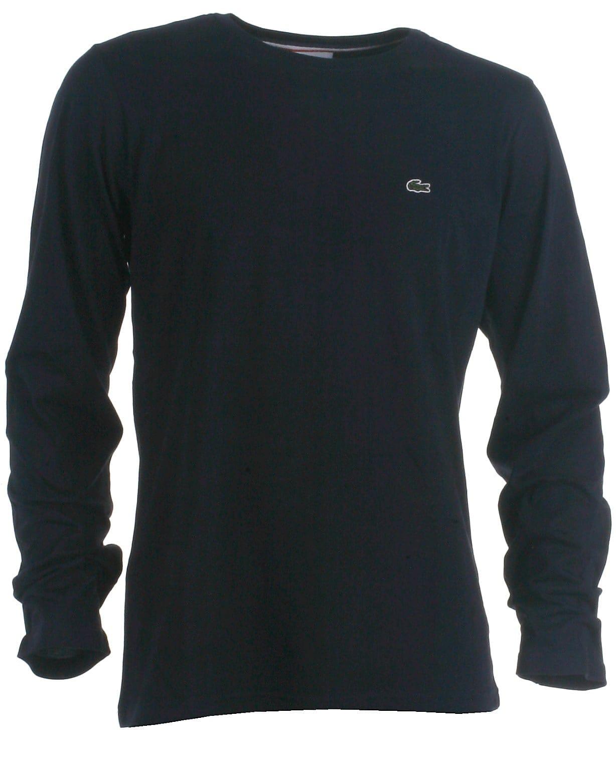 Lacoste t-shirt l/s, navy