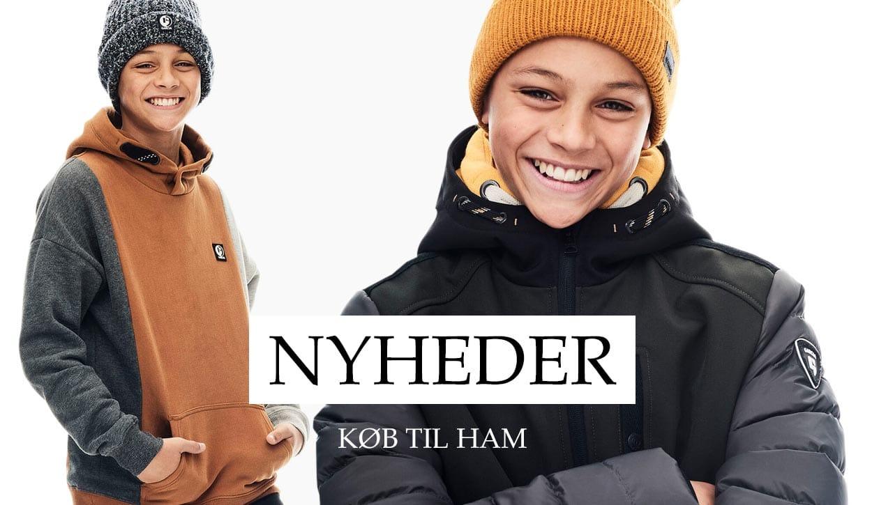 Efterårsnyheder til teens drenge - stort udvalg hos teenstyle.dk