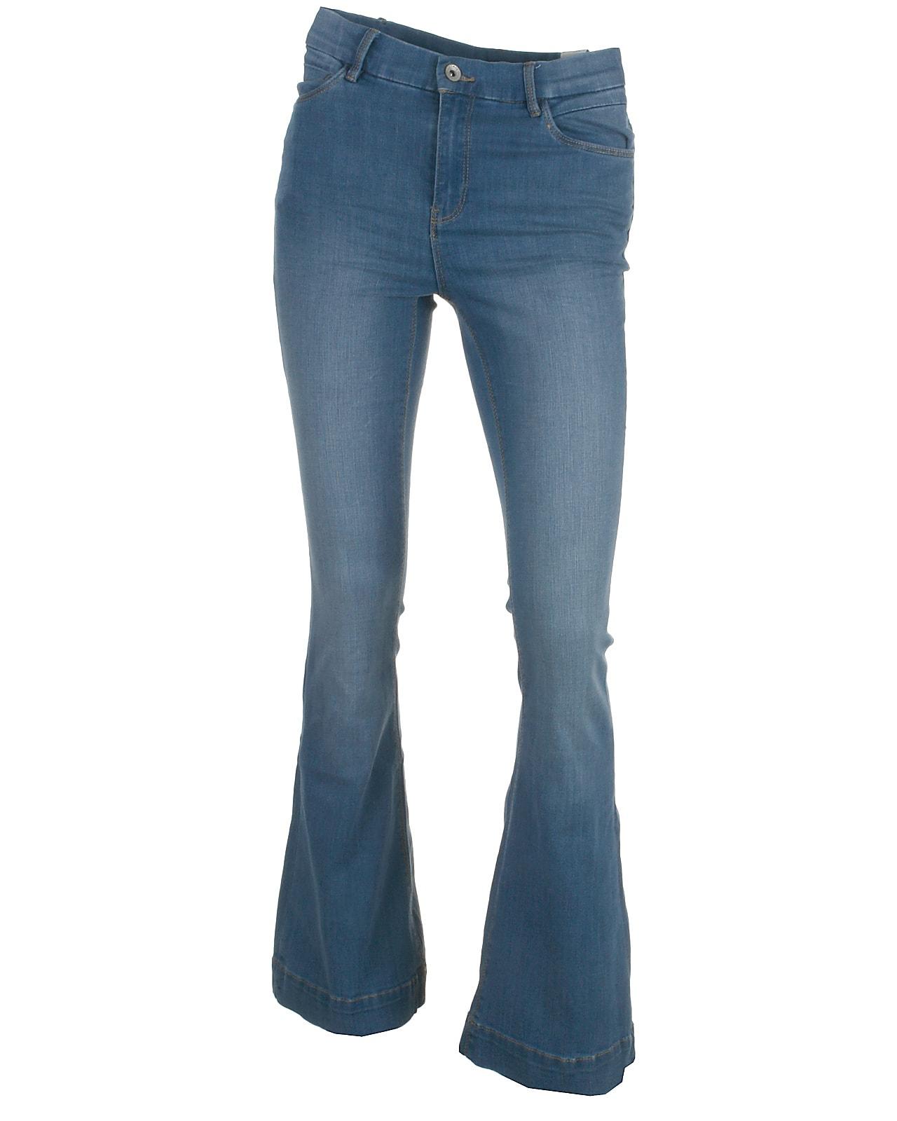 Image of LMTD boot pant, Pil, mediumblue