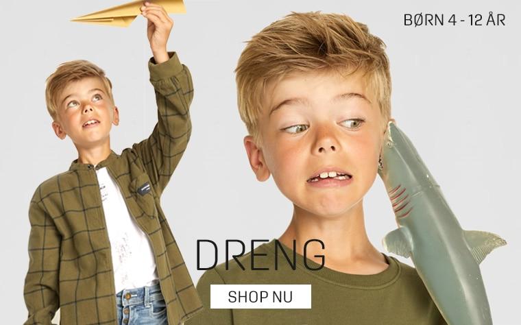 Tøj til drenge - køb flot tøj til børn fra 4 - 12 år hos umame.dk