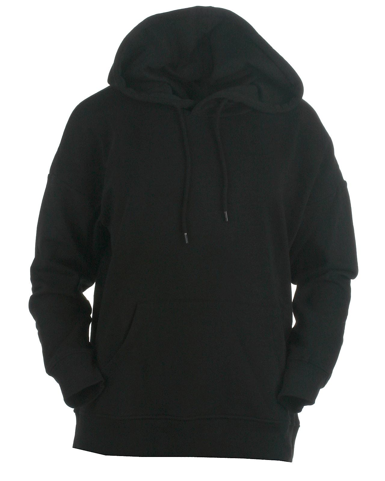 Only hood sweat, feel, black