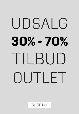 Udsalg, outlet og tilbud hos umame.dk - spar 30-70%