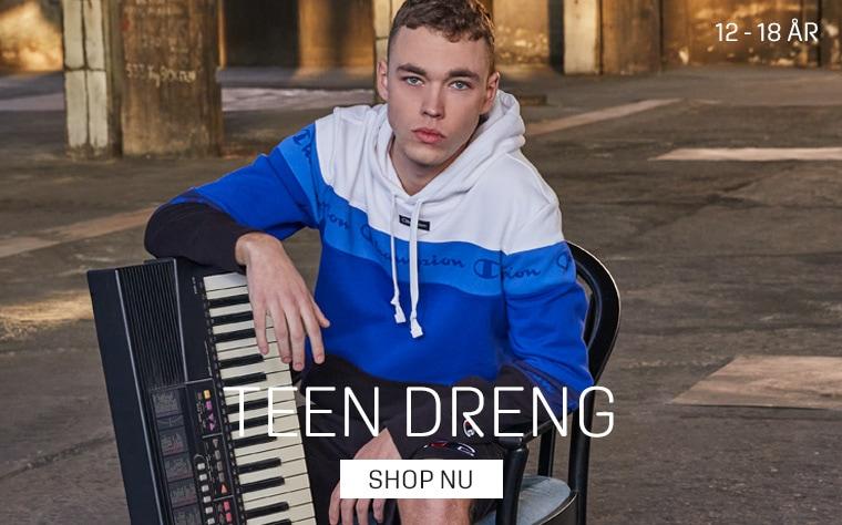 Tøj til teenagedrenge 12-18 år - køb på umame.dk - Champion til teens drenge - stort udvalg