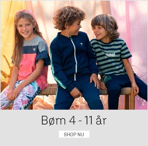 Tøj til børn fra 4 - 11 år på umame.dk - fedt udvalg af bl.a. Hummel til børn