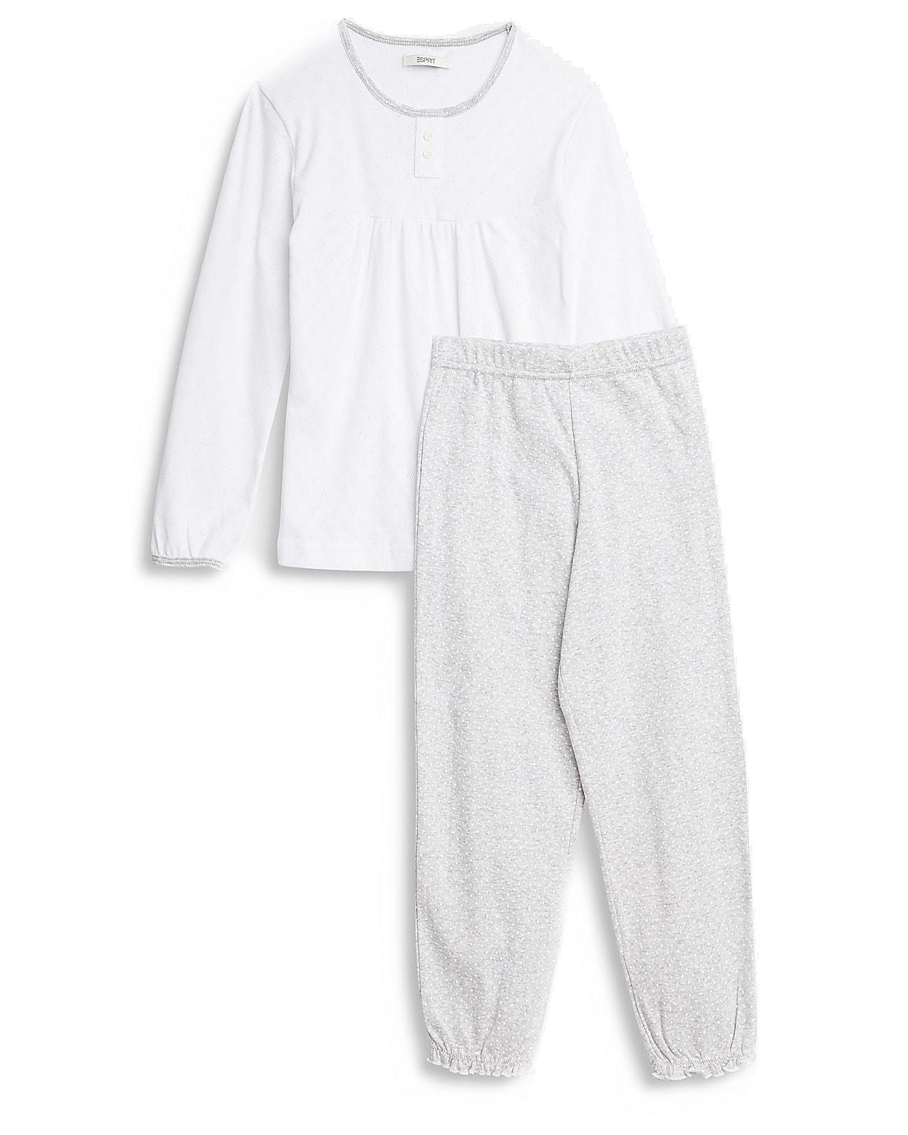 Esprit pyjamassæt, whitegrey