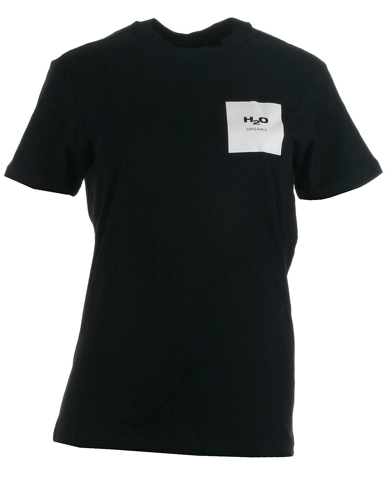 Image of H2O t-shirt s/s, Lyø, navywhite