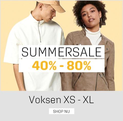 Sommerudsalg kvinde og mand - spar 40-80% på tøj og sko til kvinder og mænd - umame.dk