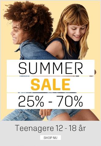 Sommerudsalg hos umame - summer sale teenagere 25% - 70% - umame.dk