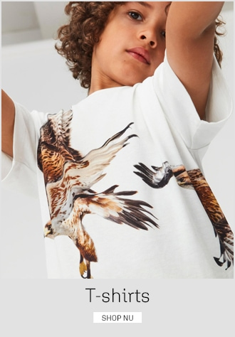 T-shirts til børn - alt i flotte t-shirts til drenge og piger fra 4 - 12 år - køb på umame.dk