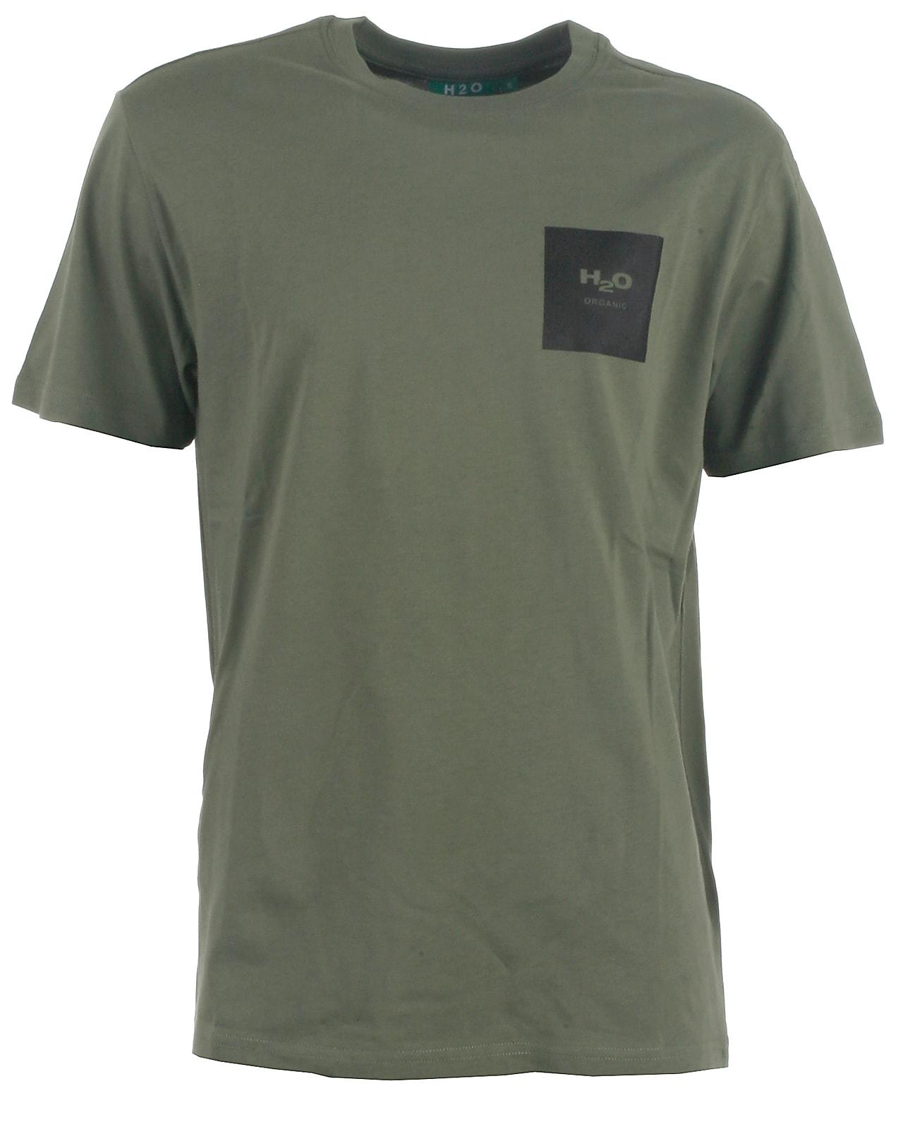 Image of H2O t-shirt s/s, Lyø, lightarmy