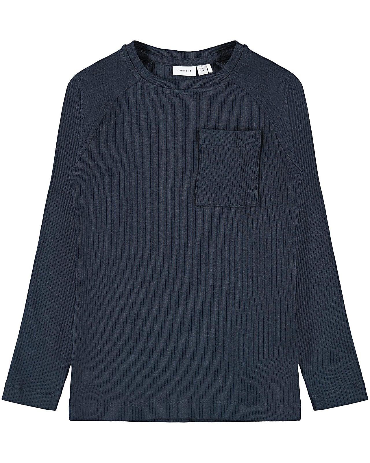 Image of Name It t-shirt l/s, Kabilleon, darksapphire