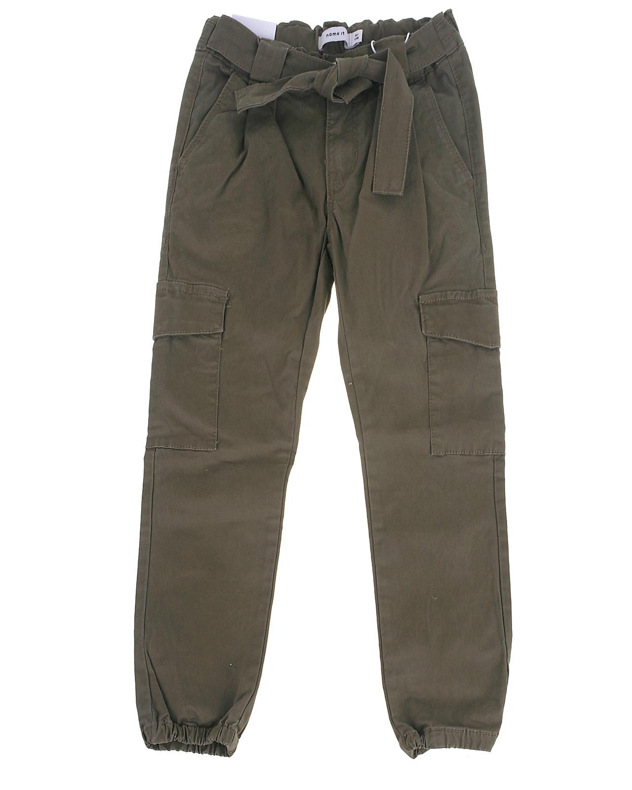 Image of Name It cargo pants, Sea, stonegray