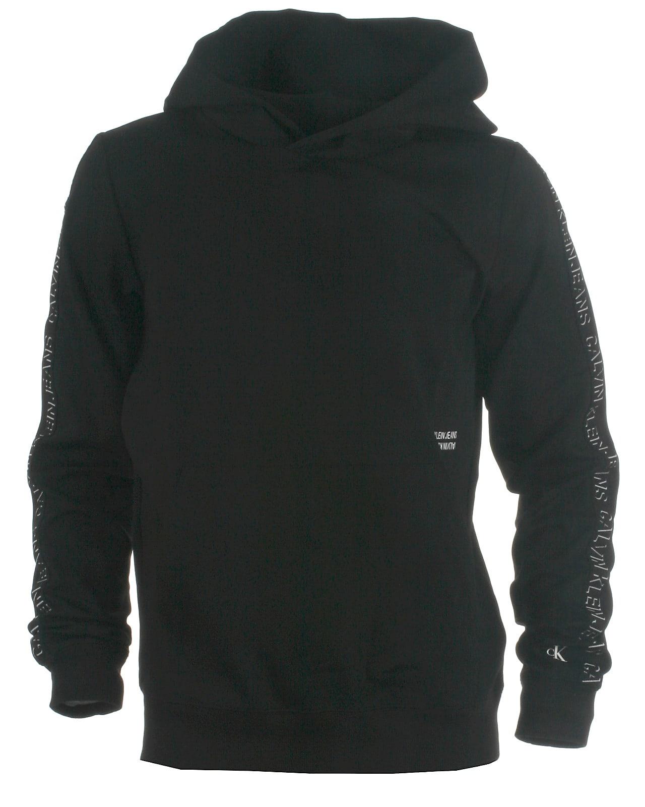 Image of Calvin Klein hood sweat, Shadow, black