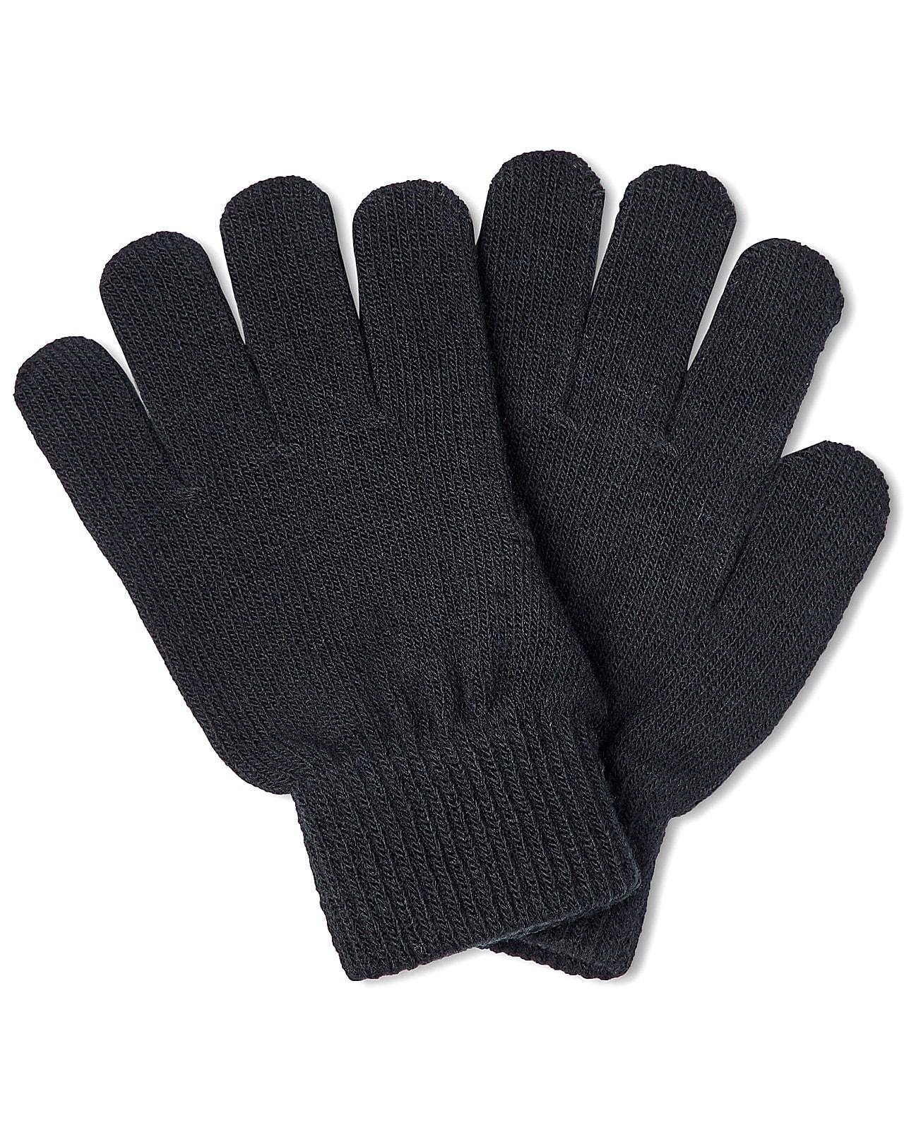 Name It strik handsker, Magic, black