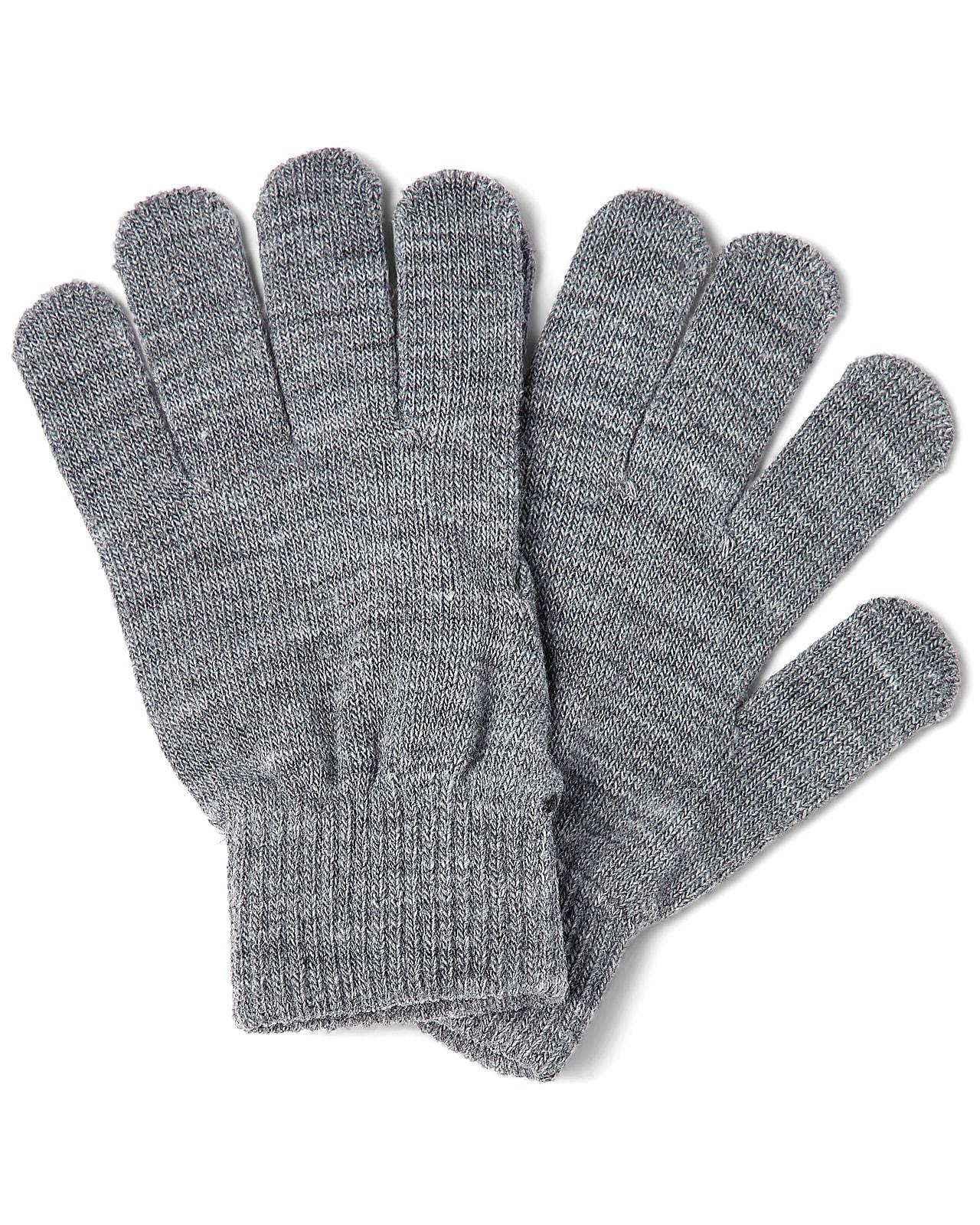 Name It strik handsker, Magic, grey