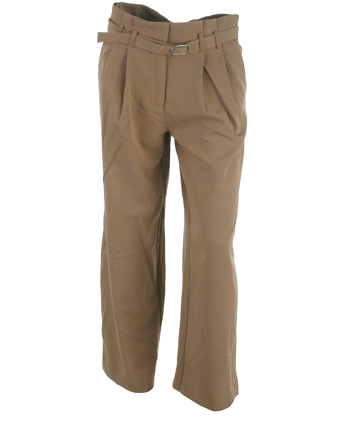 Image of Only ankel wide pant, Payton, tannin
